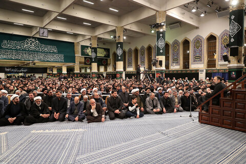 دومین شب مراسم عزاداری حضرت فاطمهزهرا سلاماللهعلیها در حسینیه امام خمینی(ره)