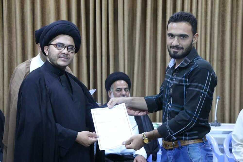 جشن فارغ التحصیلی دانشجویان دانشگاه دینی باقر العلوم عراق برگزار شد