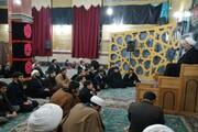 تصاویر/ حال و هوای ایام فاطمیه در حوزه کرمانشاه