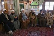 تصاویر/ اقامه عزای فاطمی از سوی امام جمعه قزوین در مسجد شیخ الاسلام