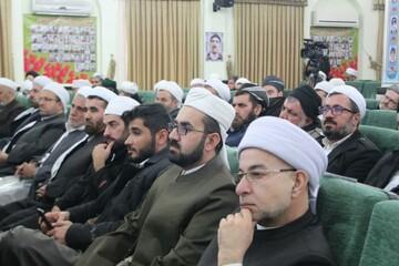 """بالصور/ إقامة مؤتمر """"تبيين ومناقشة الخطوة الثانية للثورة الإسلامية"""" في مدينة سنندج غربي إيران"""