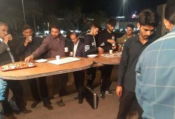 تصاویر/ ایستگاه صلواتی حوزه علمیه بندر عباس در ایام فاطمیه