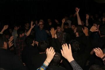 تصاویر/دومین شب سوگواری ایام فاطمیه در مدرسه علمیه امام صادق (ع) قروه