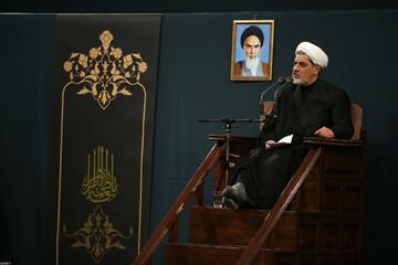 صوت| سخنرانی حجت الاسلام رفیعی در حضور رهبر انقلاب