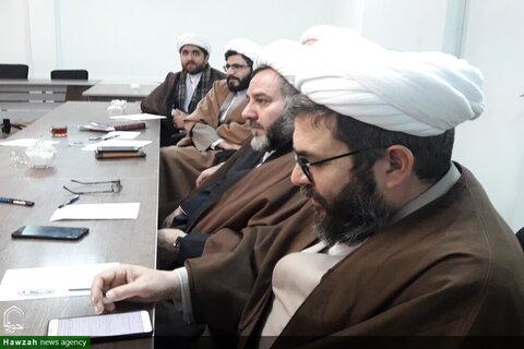 بالصور/ ندوة تخصيصة للرابطات العلمية في حوزة محافظة أذربيجان الشرقية شمال شرقي إيران