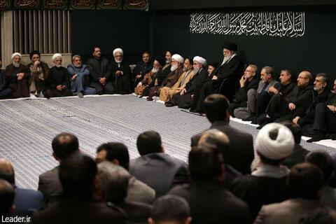 مراسم عزاداری در حسینیه امام خمینی