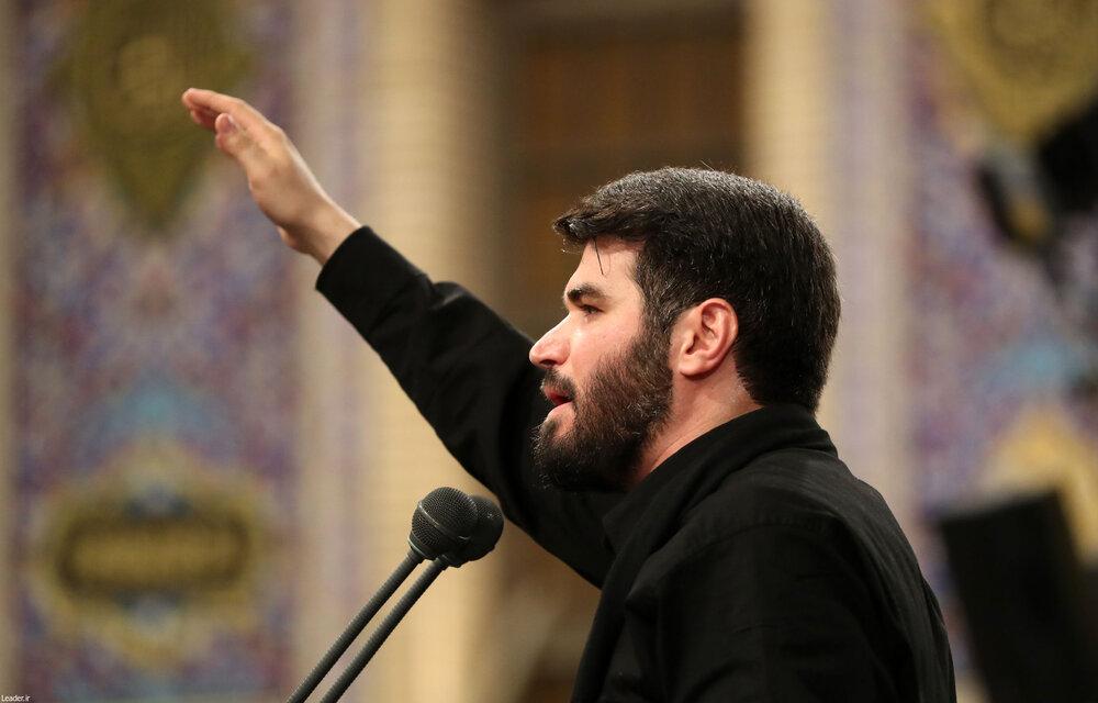 فیلم| مداحی حاج میثم مطیعی در حضور رهبر انقلاب