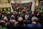 تصاویر/ عزاداری شهادت حضرت زهرا(س) در بازار بزرگ اصفهان