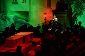 حال و هوای حسینیه ایران در وداع با شهدا به روایت تصویر