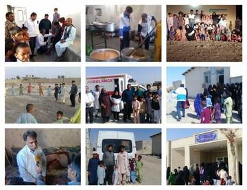استقرار پزشکان یزدی در مناطق سیل زده سیستان/ درمان رایگان بیش از ۱۵۰۰ نفر