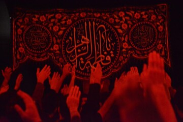 تصاویر/ مراسم سوگواری شهادت حضرت فاطمه زهرا(س) در دانشگاه تبریز