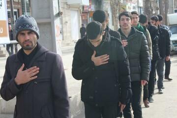 تصاویر/ اجتماع «فاطمیون» در شهرستان قروه