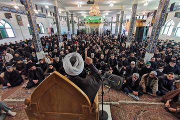 تصاویر/ مراسم سوگواری یاس نبوی در امامزاده شهدای باقریه بیرجند