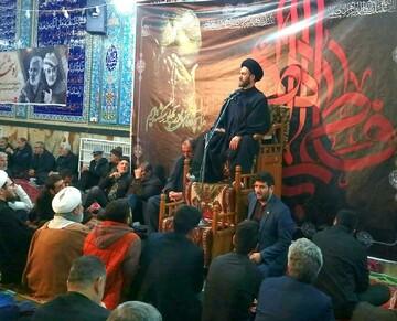 تصاویر/ مراسم عزاداری شهادت حضرت فاطمه زهرا (س) شهرستان میانه