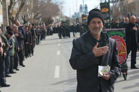 تصاویر/ تجمع عظیم «فاطمیون» در شهرستان قروه