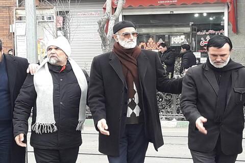 تصاویر / اجتماع بزرگ فاطمیون در تبریز