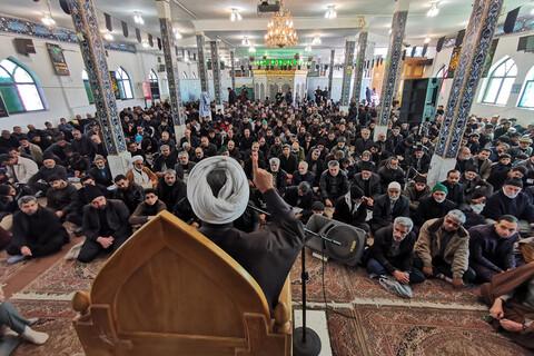 مراسم سوگواری یاس نبوی در امامزاده شهدای باقریه بیرجند