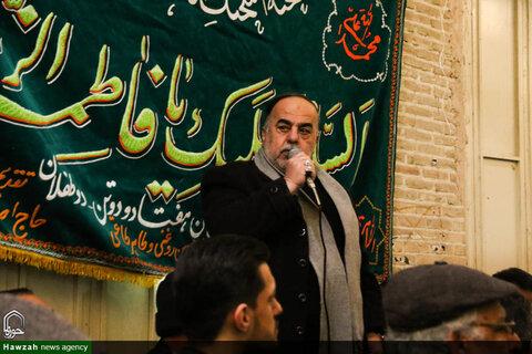 تصاویر قافله عزاداری شهادت حضرت زهرا(س) در بازار بزرگ اصفهان