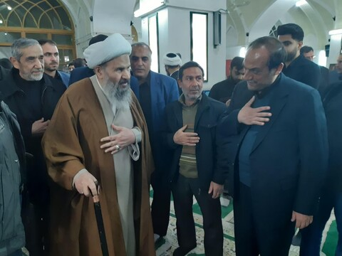 تصاویر/ اولین سالگرد ارتحال رئیس حوزه علمیه آیت الله العظمی مدنی کاشانی (ره)