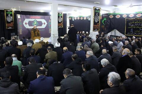مراسم سوگواری شهادت حضرت زهرا(س) در موسسه طلوع مهر