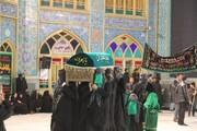 شام غریبان یاس نبوی در حرم هلال بن علی(ع) آران وبیدگل برگزار شد