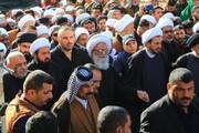 فیلم/ حضور آیت الله العظمی بشیر نجفی در پیاده روی اربعین حسینی