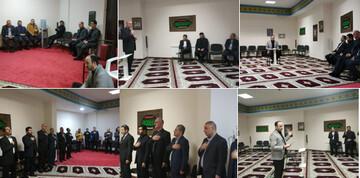 مراسم سوگواری شهادت حضرت فاطمه (س) در بلاروس برگزار شد