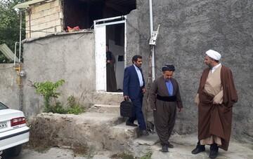 دیدار با معمرین و خانواده روحانیون مرحوم منطقه «سروآباد»