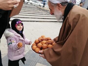 تصاویر/ حضور حجت الاسلام والمسلمین صدیقی در ایستگاه صلواتی مدرسه علمیه امام خمینی(ره)تهران