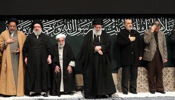 تصاویر/ آخرین شب مراسم عزاداری حضرت فاطمهزهرا سلاماللهعلیها در حضور رهبر انقلاب