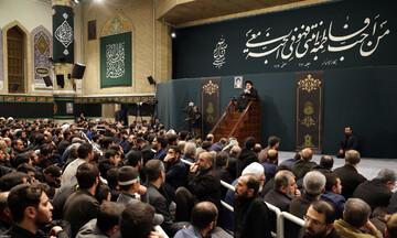 صوت| سخنرانی آیت الله سیداحمد خاتمی در حضور رهبر انقلاب
