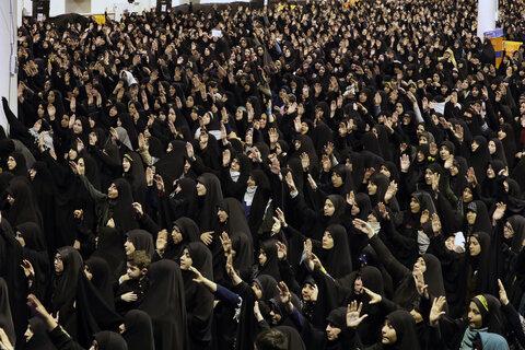 تصاویر/ مراسم عزاداری شام شهادت حضرت فاطمهزهرا سلاماللهعلیها در حسینیه امام خمینی(ره)