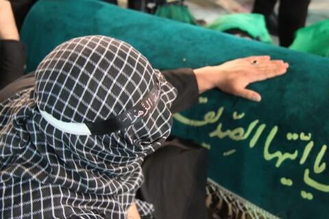 شام غریبان یاس نبوی درحرم هلال ابن علی (ع) آران وبیدگل