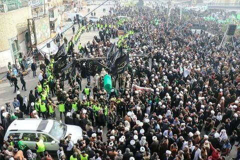 تصاویر/ اجتماع بزرگ فاطمی در نجف اشرف
