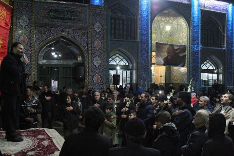 تصاویر/ تشییع نمادین پیکر حضرت زهرا(س)