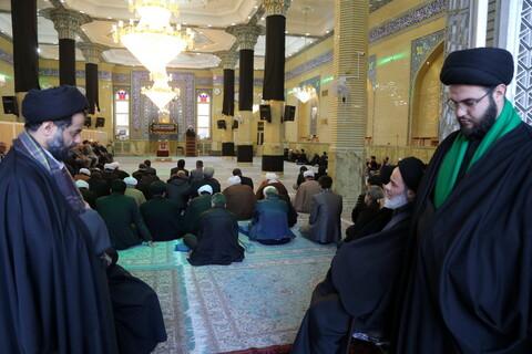 تصاویر / مراسم ترحیم یکی از وابستگان حضرت آیت الله علوی گرگانی