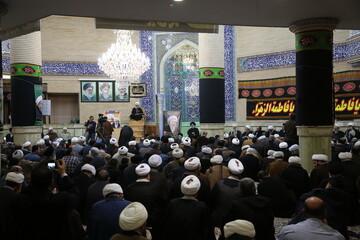 تصاویر/ مراسم بزرگداشت مرحوم آیت الله العظمی فاضل لنکرانی(ره)