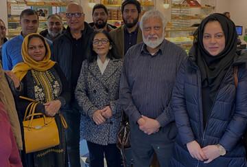 گردهمایی میان ادیانی میان مسلمانان و هندوهای شهر لستر انگلیس