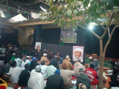 تصاویر/ تلاوت ۱۲ ختم قرآن هدیه به سردار سلیمانی در نیجریه