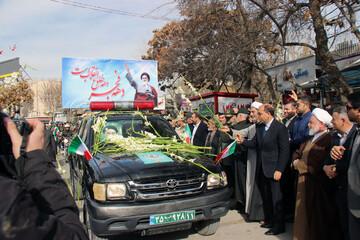 تصاویر/ مراسم گرامیداشت یوم الله ۱۲ بهمن در بجنورد