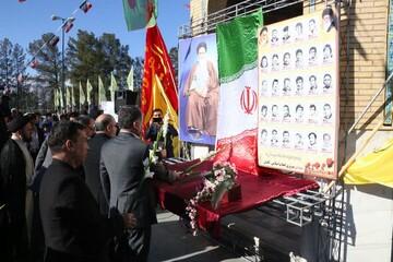 تصاویر/ مراسم آغاز دهه فجر انقلاب اسلامی در کاشان