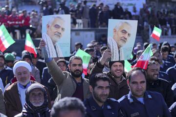 تصاویر/ مراسم بزرگداشت 12 بهمن در بیرجند