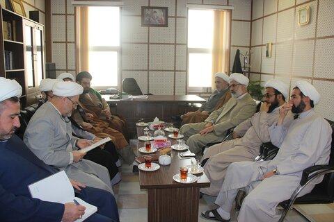 جلسه حوزه علمیه قزوین