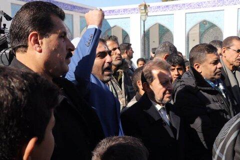 بالصور/ مسيرة للشعب السوري في إدانة ما يسمى بصفقة القرن