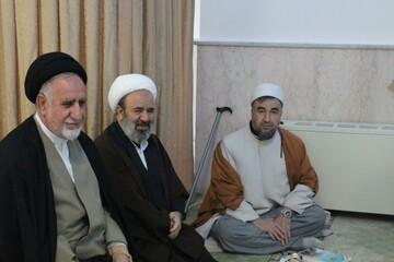تصاویر/ نشست طلاب و روحانیون بسیجی کردستان در مرکز بزرگ اسلامی غرب کشور