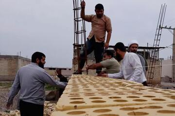 تصاویر/ اردوی جهادی طلاب مدرسه علمیه بقیه الله اندیمشک
