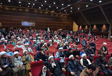 تصاویر / همایش تجلیل از فرزندان ممتاز طلاب آذربایجان شرقی