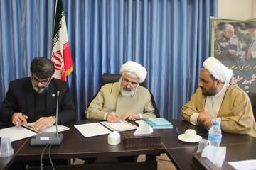 تفاهم نامه همکاری حوزه علمیه قزوین و کمیته امداد امضاء شد
