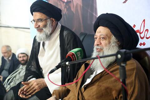 تجدید بیعت حوزویان اهواز با رهبر معظم انقلاب