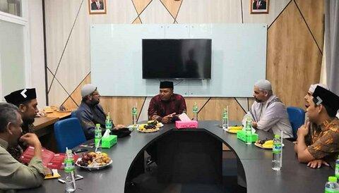 العتبة الحسينية تبحث المشترك مع أكبر الجامعات الاسلامية في إندونيسيا